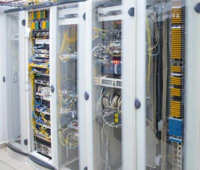 Le déploiement de la fibre optique. (Guadeloupe)